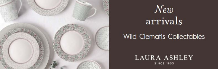 Laura Ashley Wild Clematis Collectables