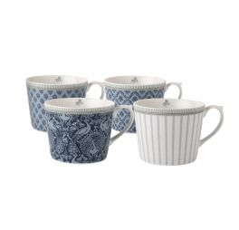 laura-ashley-tea-collectables-giftset-4-bekers-blauw-30-cl