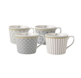 laura-ashley-tea-collectables-giftset-4-bekers-grijs-30-cl