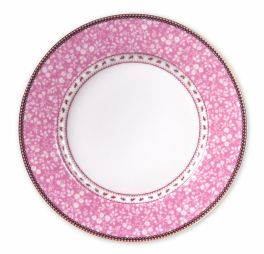 Pip Studio Early Bird Dinerbord Lovely Branches Roze 26.5 cm