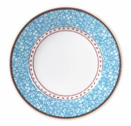 Pip Studio Early Bird Dinerbord Lovely Branches Blauw 26.5 cm