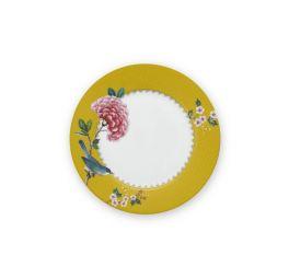 pip studio blushing birds ontbijtbord geel