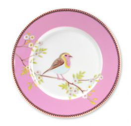 Pip Studio Early Bird Ontbijtbord Roze 21 cm