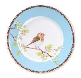 Pip Studio Early Bird Ontbijtbord Blauw 21 cm