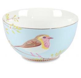 Pip servies Floral Schaal 15cm Early Bird Blauw