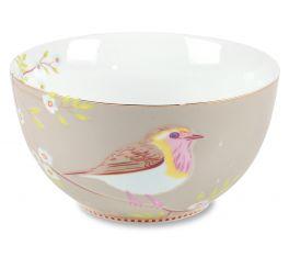 Pip servies Floral Schaal 15cm Early Bird Khaki