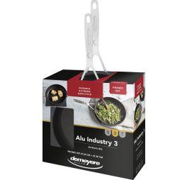 Demeyere-Alu-Industry-3-Duraslide-Koekenpannenset-24-28-cm