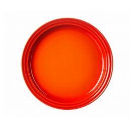 le creuset ontbijtbord 22 cm oranje