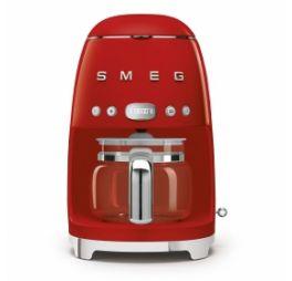 SMEG Filter Koffiezetapparaat Rood