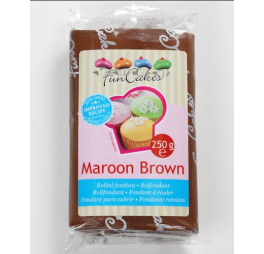 FunCakes - Rolfondant Maroon Brown 250g