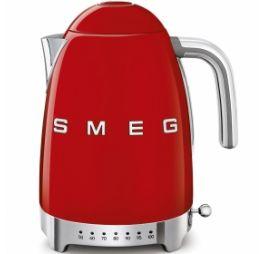 SMEG variabele Waterkoker rood 1,7 Liter