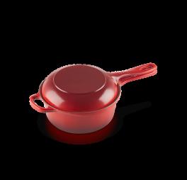 le-creuset-steelpan-2-in-1-geëmailleerd-gietijzer-rood