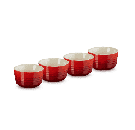 Le Creuset set van 4 mini-ramekins