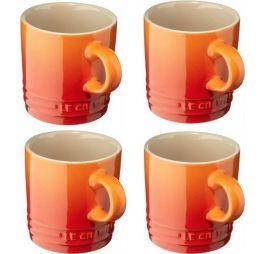 le-creuset-koffiekop-oranje-set-van-4