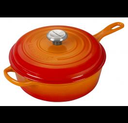 le-creuset-cassadou-braadpan-oranjerood-26-cm