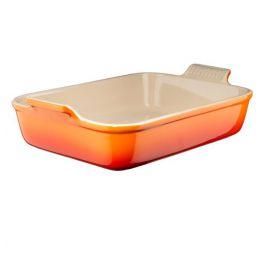 le creuset ovenschaal oranje 32 cm