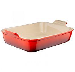 le creuset ovenschaal rood 32 cm