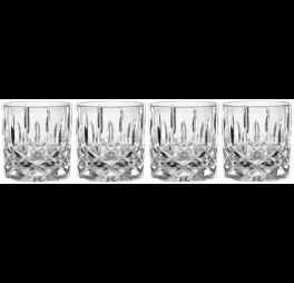 Nachtmann Single Old Fashioned glas Noblesse 245 ml - 4 stuks