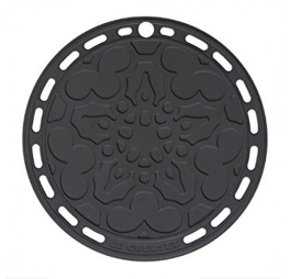 le creuset pannenonderzetter zwart