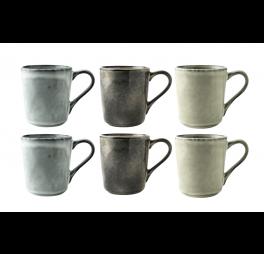 Organic Starterset Koffiemok 25 cl 6 stuks