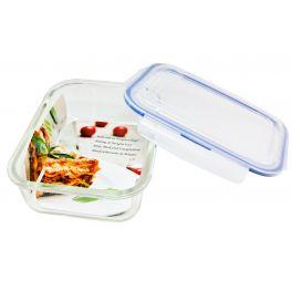 Easy Line Ovenschaal glas 1,5 liter met deksel