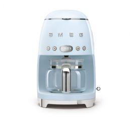 smeg filterkoffiemachine blauw